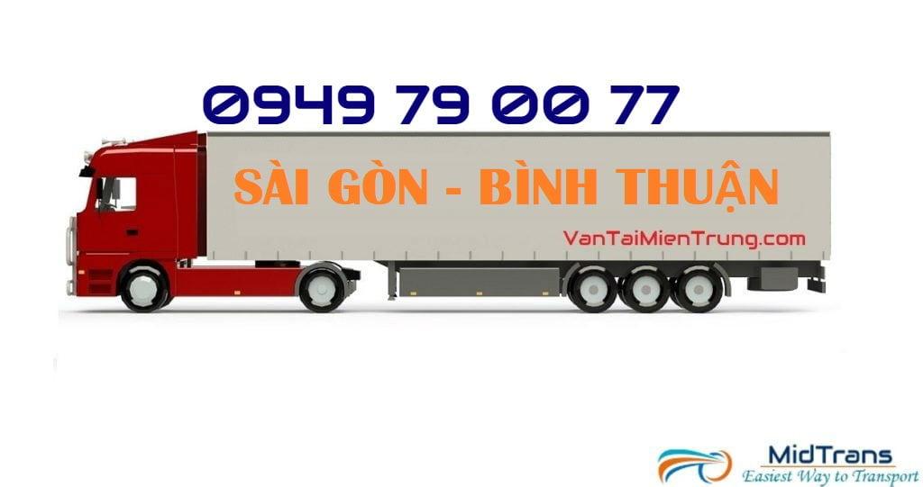 Vận chuyển hàng Sài Gòn - Bình Thuận