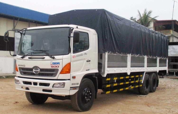 Xe 15 tấn vận chuyển hàng Phú Yên vào TP.HCM