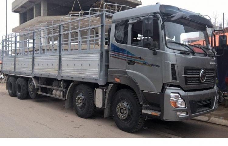 Xe 20 tấn vận chuyển hàng Tp.HCM đi Nghệ An