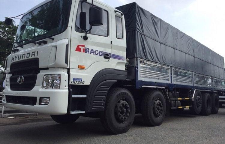 Xe 20 tấn vận chuyển hàng HCM đi Ninh Thuận