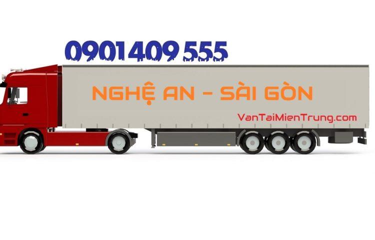Bảng giá cước xe vận chuyển hàng từ Nghệ An vào TP.HCM