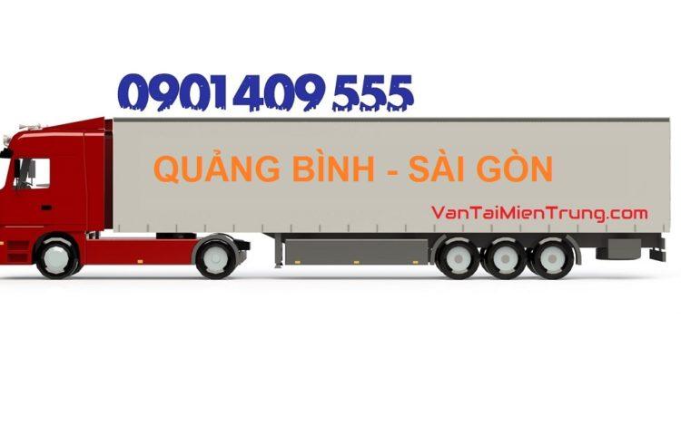 Bảng giá cước xe vận chuyển hàng từ Quảng Bình vào TP.HCM