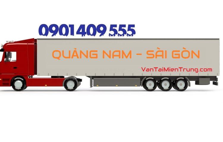 Giá cước xe vận chuyển hàng từ Quảng Nam vào TP.HCM
