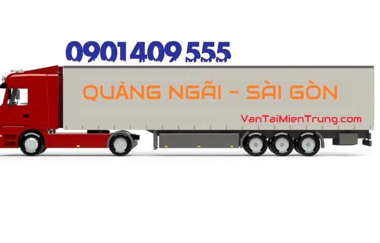Cước xe vận chuyển hàng Quảng Ngãi vào TP.HCM