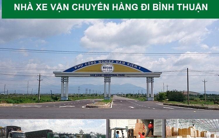 Chành xe gửi hàng đi Bình Thuận giá rẻ – chất lượng