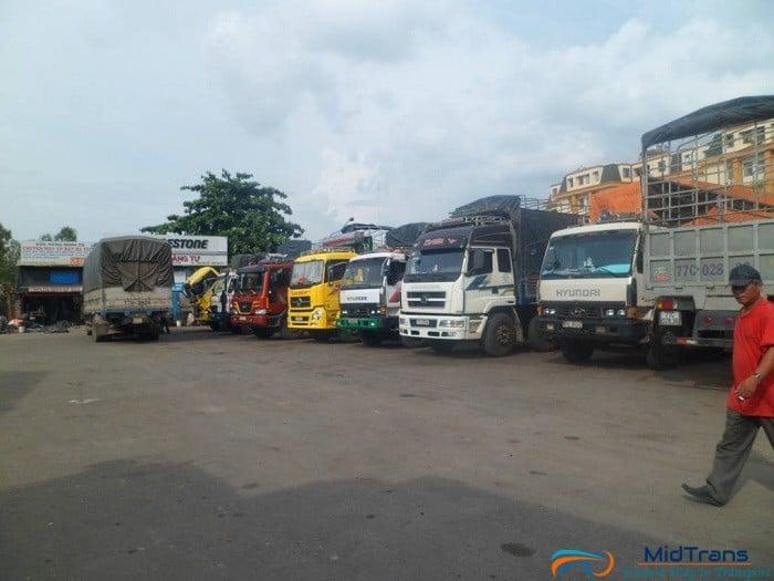 Chành xe gửi hàng đi Bình Thuận tại Vận Tải Miền Trung