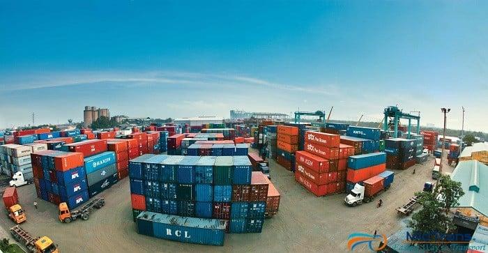 vận chuyển hàng theo xe container giá rẻ