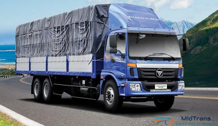 Thuê xe 15 tấn vận chuyển hàng hóa từ Hà Tĩnh vào Sài Gòn
