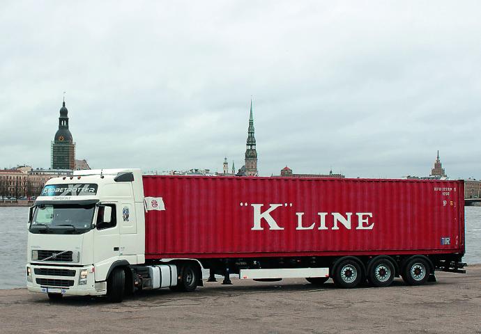 Xe container 40 feet vận chuyển hàng HCM đi Đà Nẵng