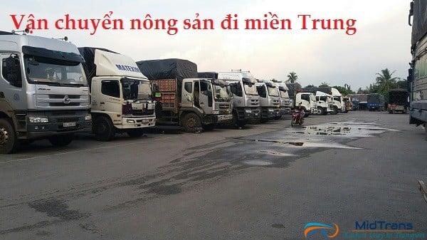 Dịch vụ vận chuyển nông sản đi miền Trung giá rẻ chất lượng