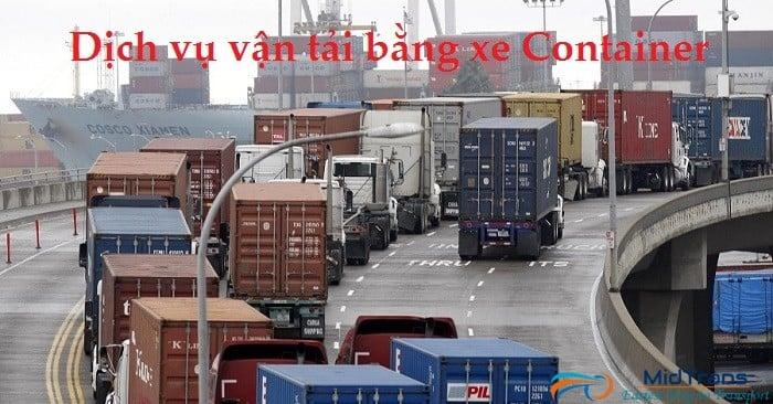 Vì sao bạn nên chọn dịch vụ vận tải containercủa Vận tải Miền Trung