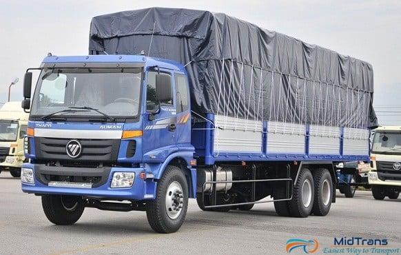 Vận chuyển hàng bằng xe tải 15 tấn từ Hà Nội vào Sài Gòn