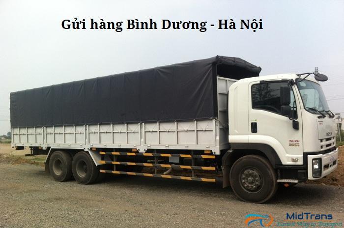 Dịch vụ gửi hàng từ Bình Dương ra Hà Nội tại Vận Tải Miền Trung