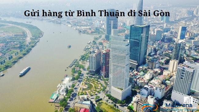 Gửi hàng từ Bình thuận vào Sài Gòn nhanh chóng và đơn giản