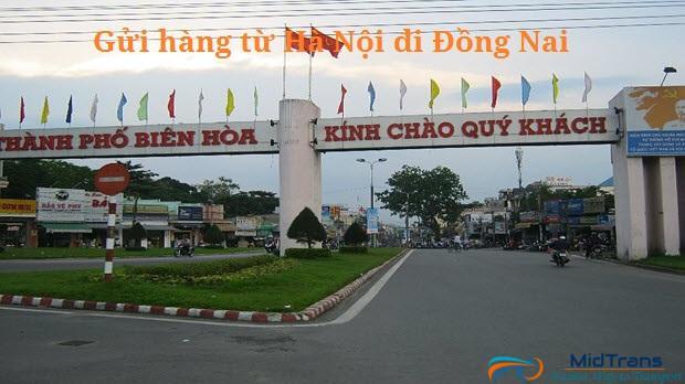 gửi hàng từ Hà Nội đi Đồng Nai