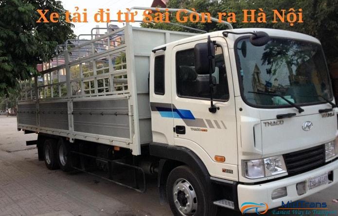 Xe tải chở hàng Hà Nội- Sài Gòn uy tín và an toàn nhất