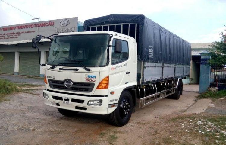 Thuê xe tải 8 tấn vận chuyển từ Hà Nội vào Sài Gòn