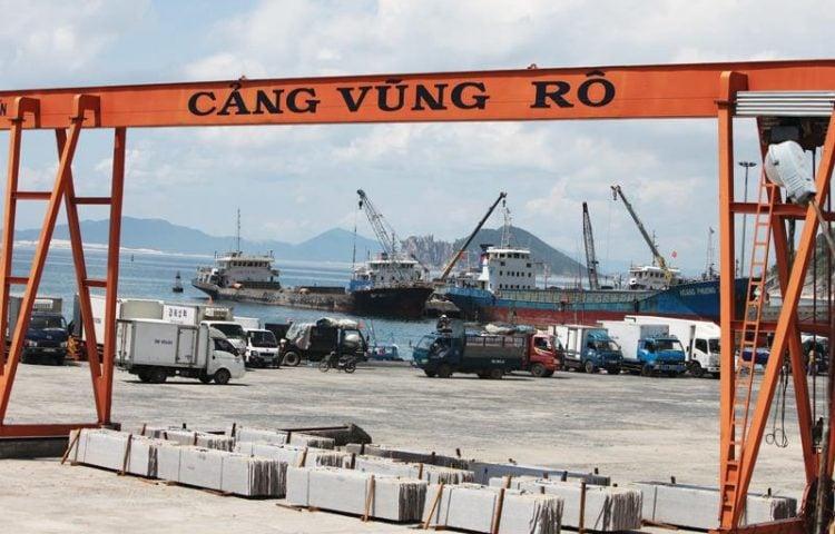 Vận chuyển hàng từ cảng Vũng Rô – Phú Yên