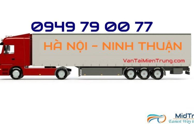 Vận chuyển hàng từ Hà Nội đi Phan Rang-Ninh Thuận