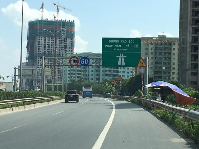 cao tốc pháp vân cầu giẽ