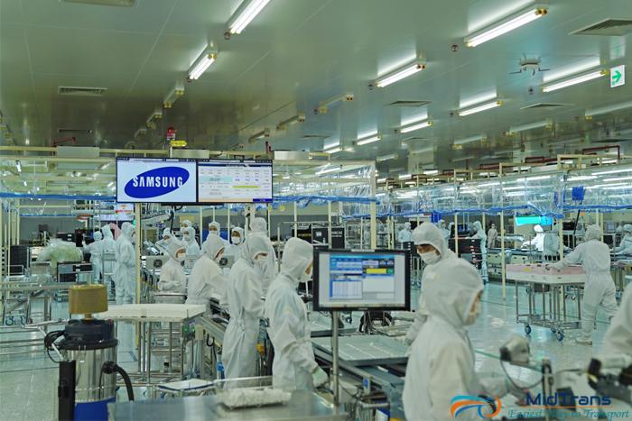 Xu hướng Logistics trong sản xuất linh kiện điện tử