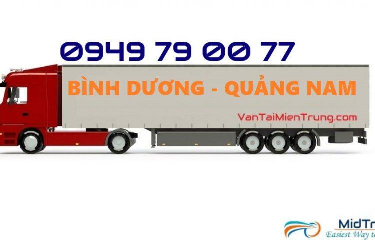Vận chuyển hàng từ Bình Dương đi Quảng Nam