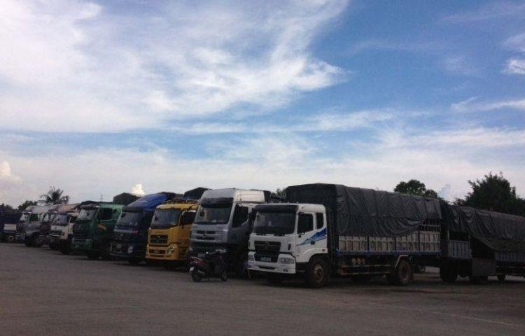 Chành xe tải chở hàng Bắc Nam