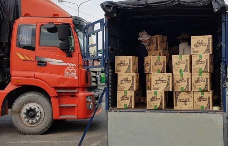 Chành xe gửi hàng về Quảng Ngãi