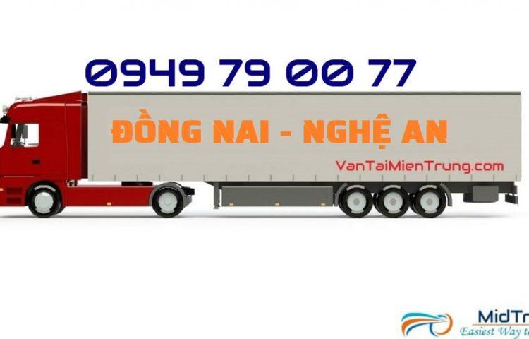Vận chuyển hàng Đồng Nai đi Nghệ An