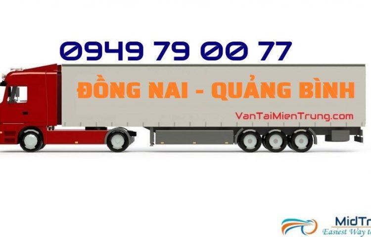 Vận chuyển hàng Đồng Nai đi Quảng Bình
