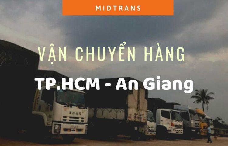 Dịch vụ vận chuyển Sài Gòn – An Giang