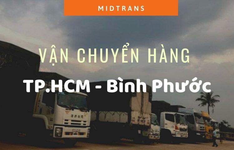 Dịch vụ vận chuyển hàng đi Bình Phước