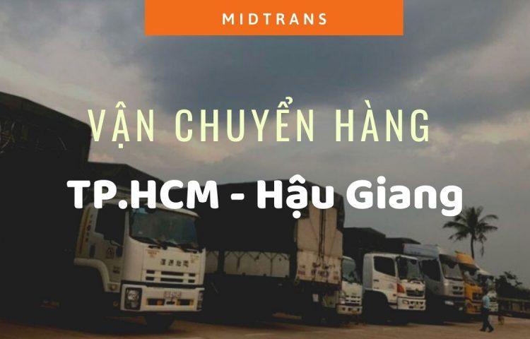 Dịch vụ vận chuyển Sài Gòn – Hậu Giang