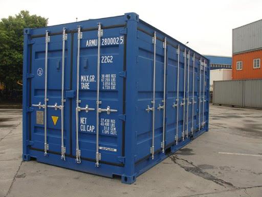 Container chở hàng bách hóa